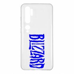 Чохол для Xiaomi Mi Note 10 Blizzard Logo