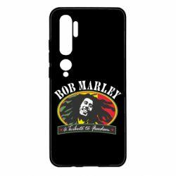 Чехол для Xiaomi Mi Note 10 Bob Marley A Tribute To Freedom