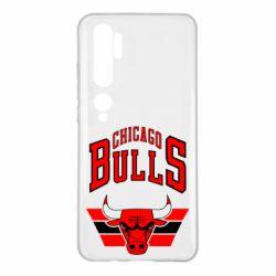 Чехол для Xiaomi Mi Note 10 Большой логотип Chicago Bulls