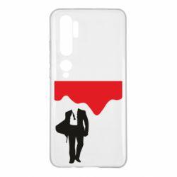 Чехол для Xiaomi Mi Note 10 Bond 007 minimalism