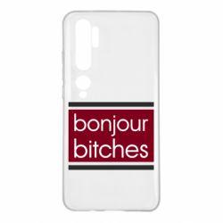 Чехол для Xiaomi Mi Note 10 Bonjour bitches