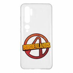 Чехол для Xiaomi Mi Note 10 Borderlands logotype