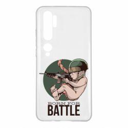Чехол для Xiaomi Mi Note 10 Born For Battle