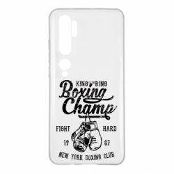 Чохол для Xiaomi Mi Note 10 Boxing Champ
