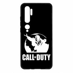 Чехол для Xiaomi Mi Note 10 Call of Duty Logo