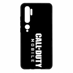 Чехол для Xiaomi Mi Note 10 Call of Duty Mobile