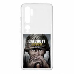 Чохол для Xiaomi Mi Note 10 Call of Duty WW2 poster