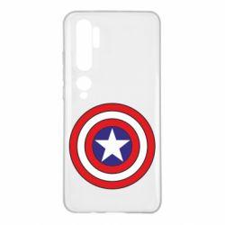 Чехол для Xiaomi Mi Note 10 Captain America