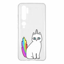 Чехол для Xiaomi Mi Note 10 Cat Unicorn