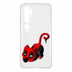 Чехол для Xiaomi Mi Note 10 Cat with a grenade