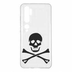 Чохол для Xiaomi Mi Note 10 Череп та кістки