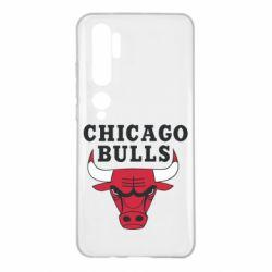 Чехол для Xiaomi Mi Note 10 Chicago Bulls Classic