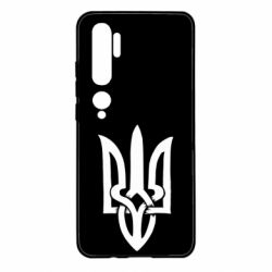 Чехол для Xiaomi Mi Note 10 Coat of arms of Ukraine torn inside