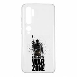 Чехол для Xiaomi Mi Note 10 COD Warzone Splash