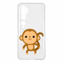 Чехол для Xiaomi Mi Note 10 Colored monkey