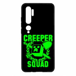 Чехол для Xiaomi Mi Note 10 Creeper Squad