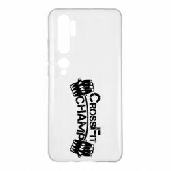 Чехол для Xiaomi Mi Note 10 CrossFit Champ