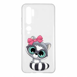 Чехол для Xiaomi Mi Note 10 Cute raccoon