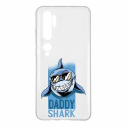 Чехол для Xiaomi Mi Note 10 Daddy shark