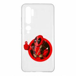 Чехол для Xiaomi Mi Note 10 Deadpool Fallout Boy