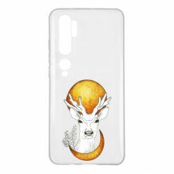 Чехол для Xiaomi Mi Note 10 Deer and moon