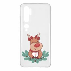 Чехол для Xiaomi Mi Note 10 Deer tea party girl
