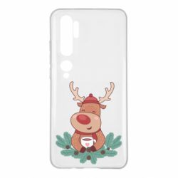 Чехол для Xiaomi Mi Note 10 Deer tea party