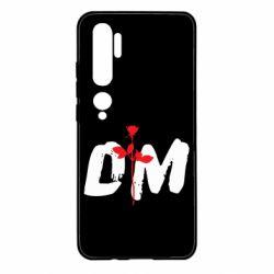 Чехол для Xiaomi Mi Note 10 depeche mode logo