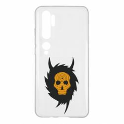 Чехол для Xiaomi Mi Note 10 Devil skull rock