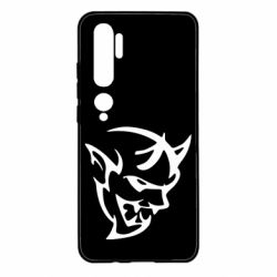 Чехол для Xiaomi Mi Note 10 Dodge demon logo
