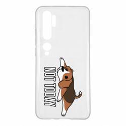 Чехол для Xiaomi Mi Note 10 Dog not today