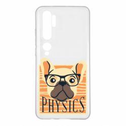 Чехол для Xiaomi Mi Note 10 Dog Physicist