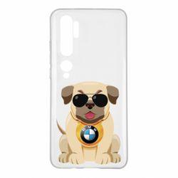 Чохол для Xiaomi Mi Note 10 Dog with a collar BMW