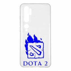 Чохол для Xiaomi Mi Note 10 Dota 2 Fire