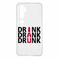 Чехол для Xiaomi Mi Note 10 Drink Drank Drunk