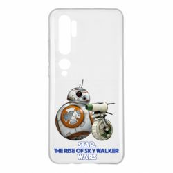 Чехол для Xiaomi Mi Note 10 Droids BB 8 and  D O  star wars the rise of skywalker