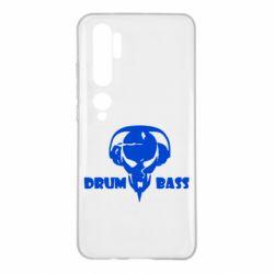 Чехол для Xiaomi Mi Note 10 Drumm Bass