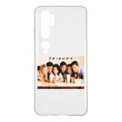 Чехол для Xiaomi Mi Note 10 Друзья в сборе