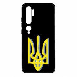 Чехол для Xiaomi Mi Note 10 Двокольоровий герб України