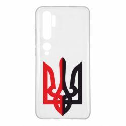 Чохол для Xiaomi Mi Note 10 Двокольоровий герб України