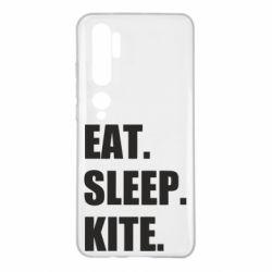 Чохол для Xiaomi Mi Note 10 Eat, sleep, kite