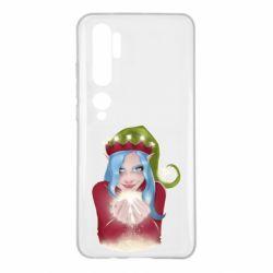 Чехол для Xiaomi Mi Note 10 Elf girl