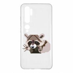 Чехол для Xiaomi Mi Note 10 Eнот вектор