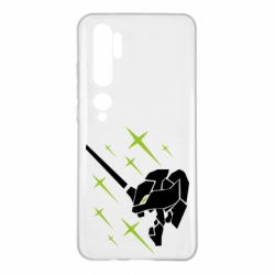 Чехол для Xiaomi Mi Note 10 Evangelion head