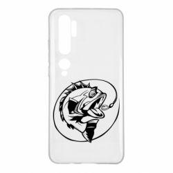 Чехол для Xiaomi Mi Note 10 Evil fish