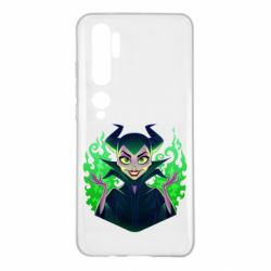 Чехол для Xiaomi Mi Note 10 Evil Maleficent