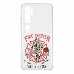 Чохол для Xiaomi Mi Note 10 Fire Fighter