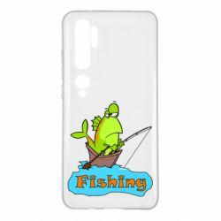Чехол для Xiaomi Mi Note 10 Fish Fishing