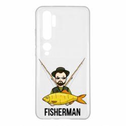 Чохол для Xiaomi Mi Note 10 Fisherman and fish