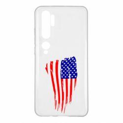 Чехол для Xiaomi Mi Note 10 Флаг США